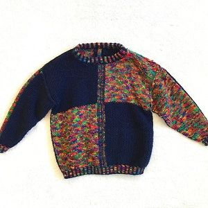 Toddler Hand Knitted Sweater